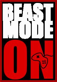 Beast Mode ON Biały Damski