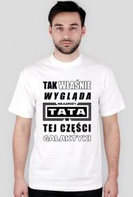 Koszulka Najlepszy Tata w Galaktyce