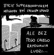Koszulka Bycie Superbohaterem