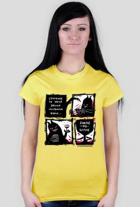 Koszulka Czytanie zaraz po Winie
