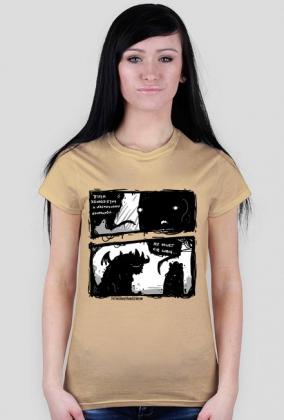 Koszulka Nawet Cię Lubię damska