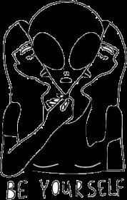 Be yourself - alien