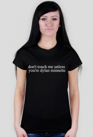 Don't touch me unless...