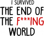 I survived The End Of The F***ing World bluza
