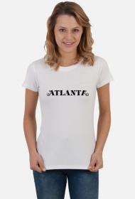 Atlanta - koszulka biała & kolor