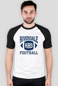 Riverdale Football - koszulka męska kolorowe rękawki