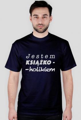 Koszulka męska Jestem książkoholikiem