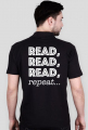 Polo męskie Read, read, read, repeat...