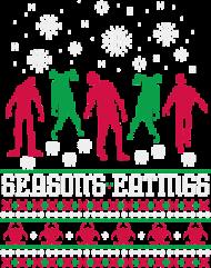 Świąteczna koszulka - Zombie sweterek