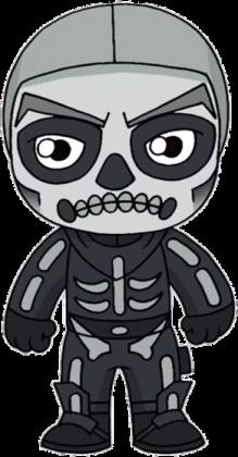 Magiczny Kubek Fortnite - Skull Trooper