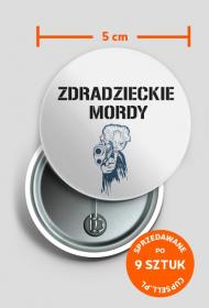 Przypinki - Zdradzieckie mordy_1