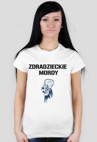 Koszulka damska - Zdradzieckie mordy 1d