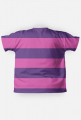 """Koszulka męska """"Jamesa Maya"""" w kolorze fioletowo - różowym"""