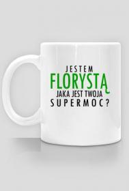 Jestem Florystą - czarny napis