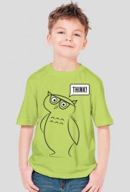 Koszulka dla chłopaków Think!