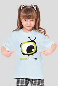 Koszulka dla dziewczyn YoungFace.TV