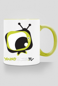 Kubek YoungFace.TV zielony