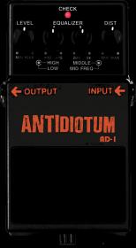 ANTIDiotum Stomp Box