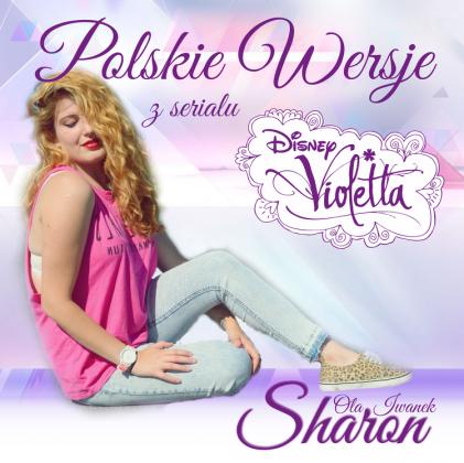 """Poduszka """"Polskie wersje z Violetty"""""""