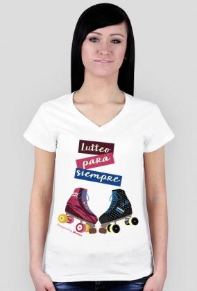"Koszulka damska ""Lutteo para siempre"""