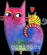 Kubek Kot Duży i Mały