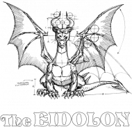 Eidolon B&W Dragon