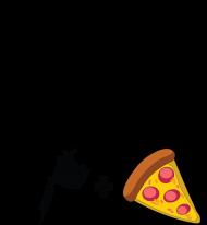 """Kubek"""" W życiu lubię, dwie rzeczy- tatuaże i pizzę"""""""