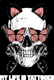 "Koszulka"" My life is tattooed"" czarna"