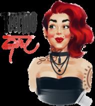 "Kubek ""Tattoo Girl"""