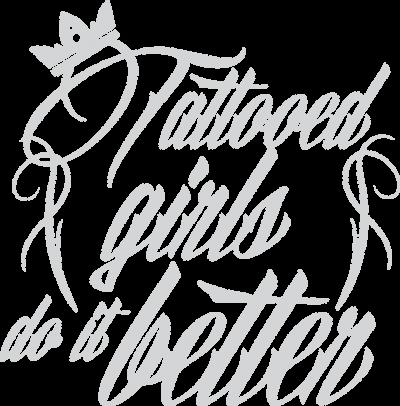 """Bluza """"Tattooed girls do it better"""""""