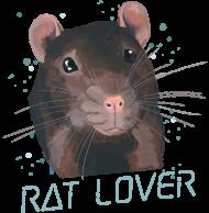 Rat Lover - koszulka damska