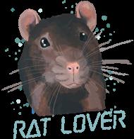 Rat Lover - kubek kolorowy