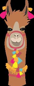 Ruda lama koszulka damska2