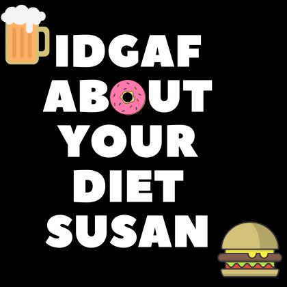 Susan , męska czarna