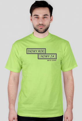 Koszulka Nowy rok Nowy ja