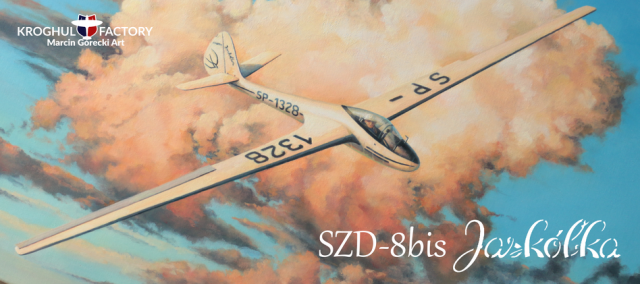 Kubek SZD-8bis Jaskółka
