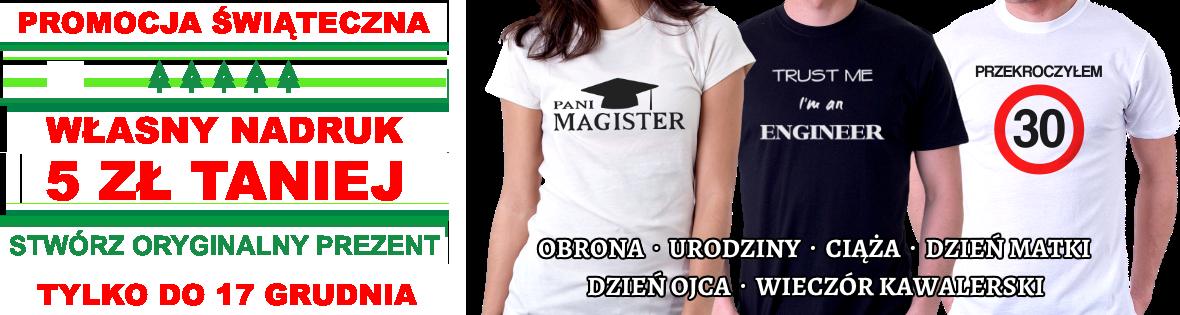 Koszulka na prezent
