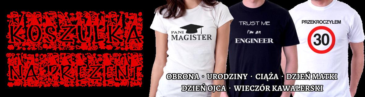 Koszulka na prezent - InneKoszulki.pl