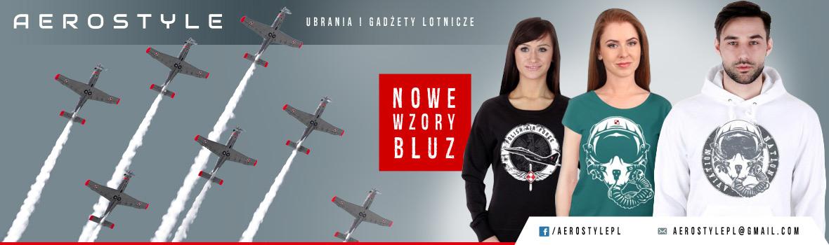 AeroStyle: Koszulki, bluzy, gadżety lotnicze