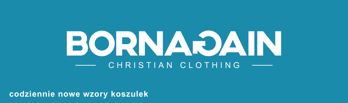 Born Again – koszulki chrześcijańskie