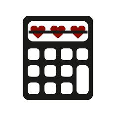 Miłości nie ma, jest matematyka. | Matematyczne prezenty, prezent dla matematyka